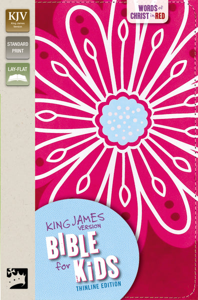 KJV, Bible for Kids, Leathersoft, Pink