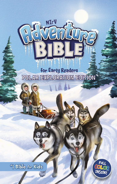 NIrV, Adventure Bible for Early Readers, Polar Exploration Edition, Hardcover, Full Color