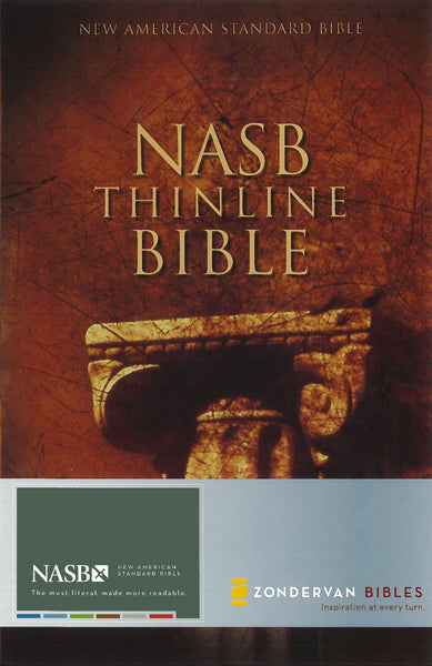 NASB, Thinline Bible, Paperback, Red Letter Edition