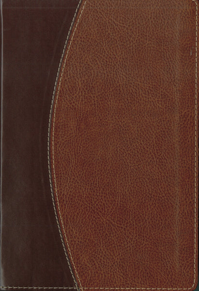 NASB, Thinline Bible, Leathersoft, Brown, Red Letter Edition