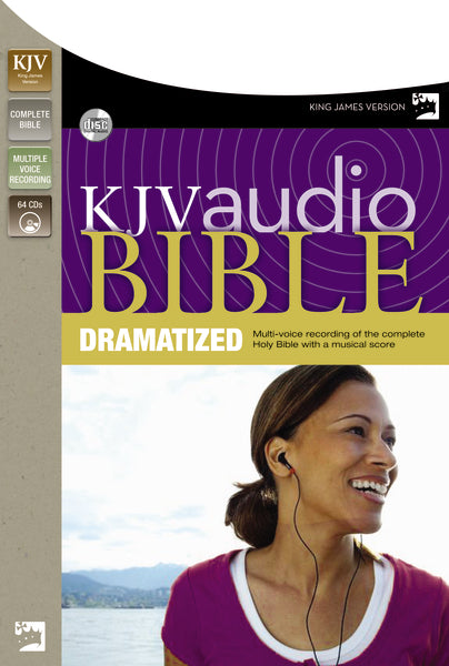 KJV, Complete Bible Dramatized, Audio CD