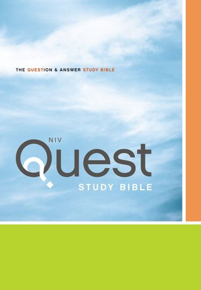 NIV, Quest Study Bible, Hardcover