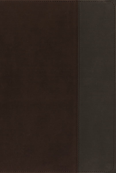NIV, Quest Study Bible, Leathersoft, Brown/Gray
