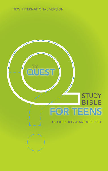 NIV, Quest Study Bible for Teens, Hardcover