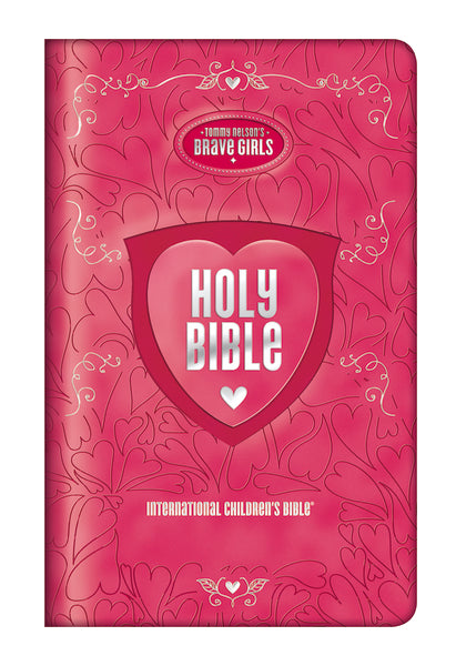 ICB, Tommy Nelson's Brave Girls Devotional Bible, Leathersoft, Pink