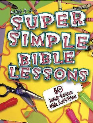 Super Simple Bible Lessons (Ages 3-5)