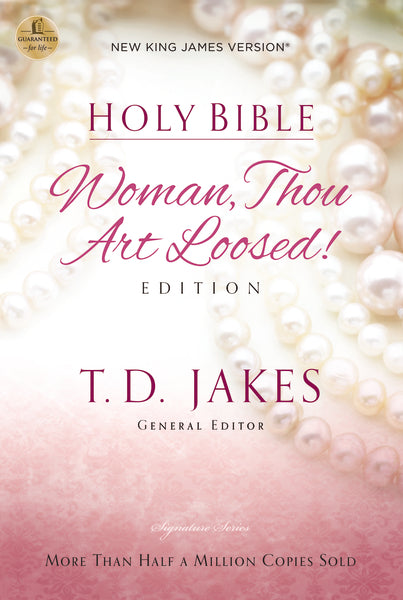 NKJV, Woman Thou Art Loosed, Paperback, Red Letter Edition