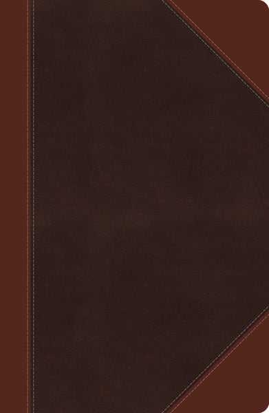 NKJV, Reference Bible, Giant Print, Leathersoft, Brown, Indexed, Red Letter Edition