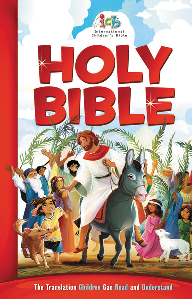 ICB, Children's Holy Bible, Multicolor, Hardcover