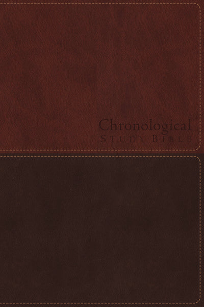 NKJV, Chronological Study Bible, Leathersoft, Brown