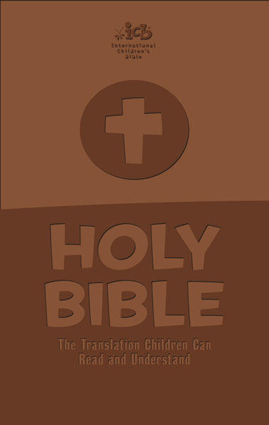 ICB, Children's Holy Bible, Leathersoft, Brown