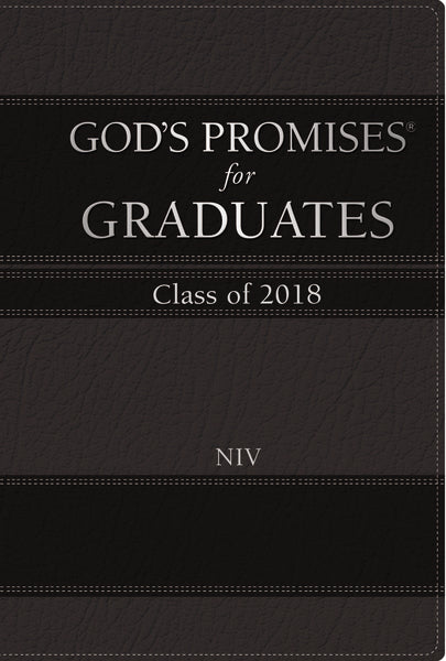 God's Promises for Graduates: Class of 2018 - Black NIV