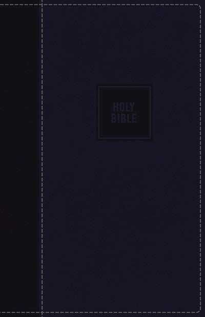NKJV, Deluxe Gift Bible, Leathersoft, Blue, Red Letter Edition, Comfort Print