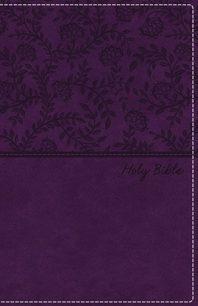 NKJV, Deluxe Gift Bible, Leathersoft, Purple, Red Letter Edition, Comfort Print