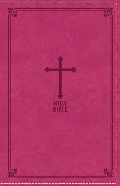 NKJV, Deluxe Gift Bible, Leathersoft, Pink, Red Letter Edition, Comfort Print