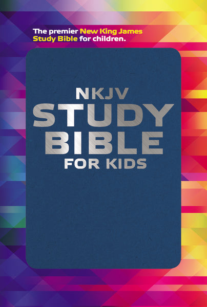 NKJV, Study Bible for Kids, Flexcover