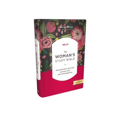 The NKJV, Woman's Study Bible, Hardcover, Red Letter, Full-Color