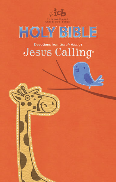 ICB, Jesus Calling Bible for Children, Leathersoft, Orange