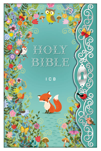 The ICB, Blessed Garden Bible, Hardcover