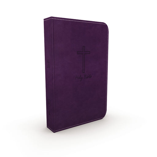 KJV, Deluxe Gift Bible, Leathersoft, Purple, Red Letter Edition, Comfort Print