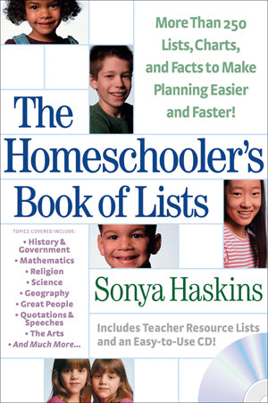 Homeschooler's Book Of Lists, The