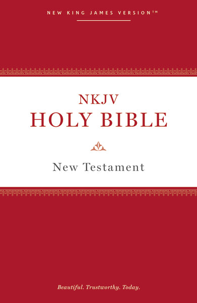 NKJV, Holy Bible New Testament, Paperback, Comfort Print