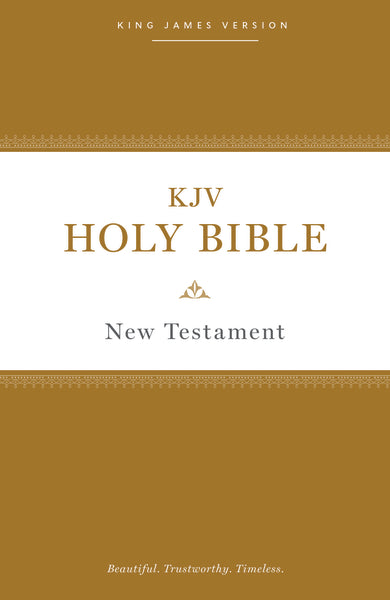 KJV, Holy Bible New Testament, Paperback, Comfort Print
