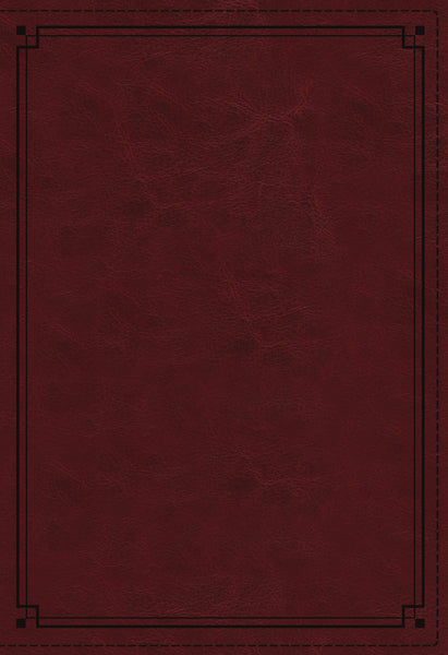 NKJV Study Bible, Leathersoft, Red, Thumb Indexed, Comfort Print