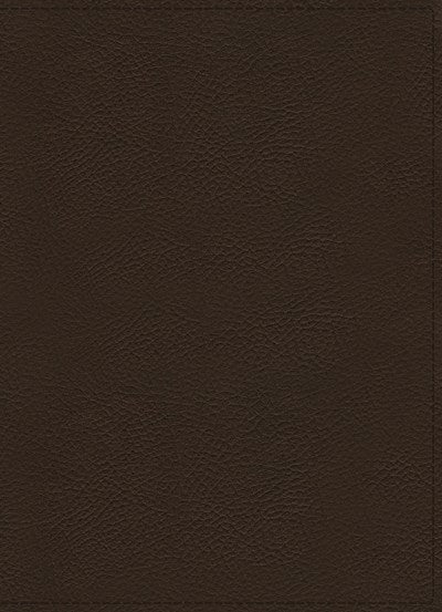 NKJV, Wiersbe Study Bible, Genuine Leather, Brown, Thumb Indexed, Red Letter Edition, Comfort Print