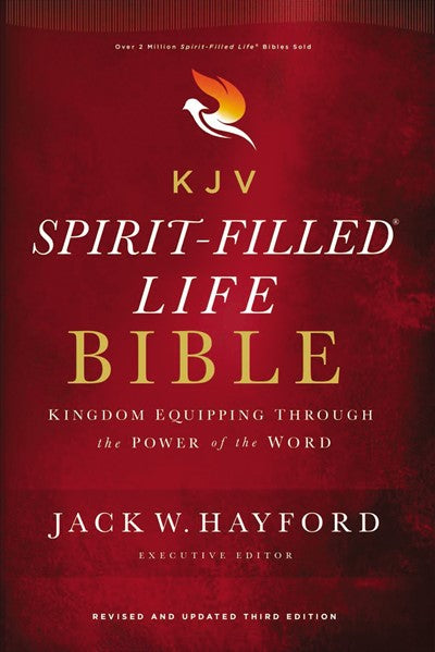 KJV, Spirit-Filled Life Bible, Third Edition, Hardcover, Red Letter, Comfort Print