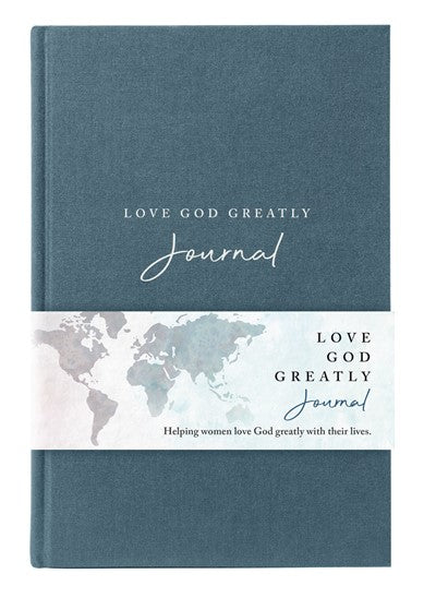 NET, Love God Greatly Journal, Cloth over Board, Comfort Print