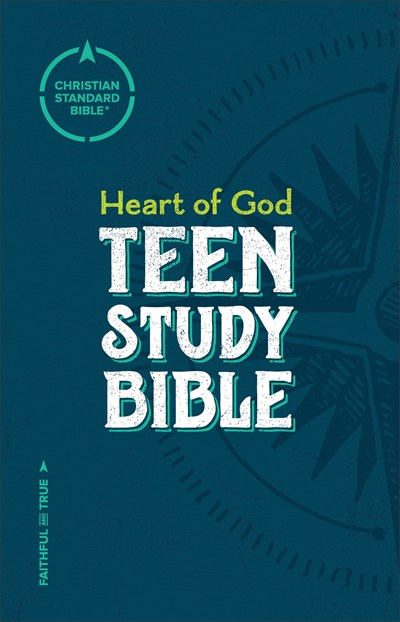 CSB Heart of God Teen Study Bible, Hardcover