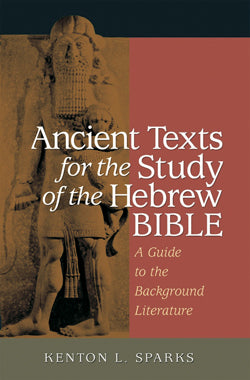 Ancient Texts For The Study Of Thehebrew Bible