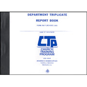 Department Triplicate Report Book ( Form 280 - T )