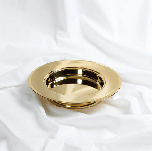 Communion Bread Plate Stacking Brass Colour