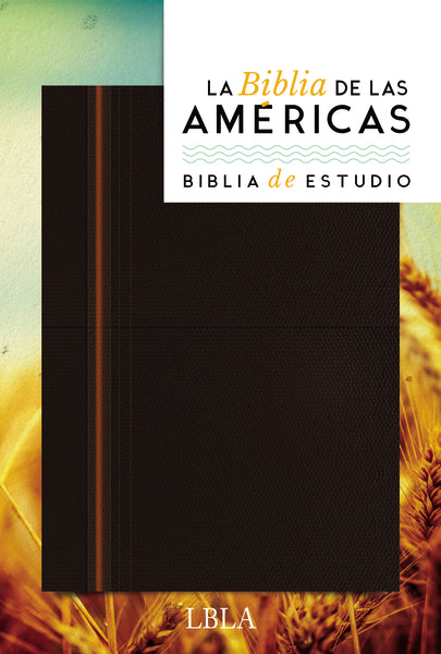Biblia de Estudio, LBLA, Leathersoft / Spanish Study Bible, LBLA, Leathersoft