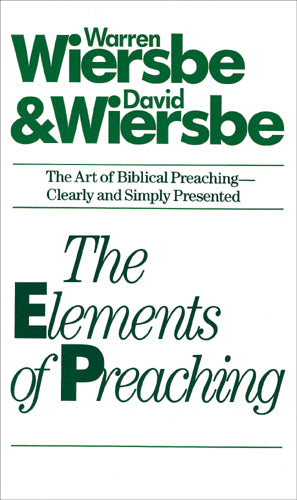 The Elements of Preaching