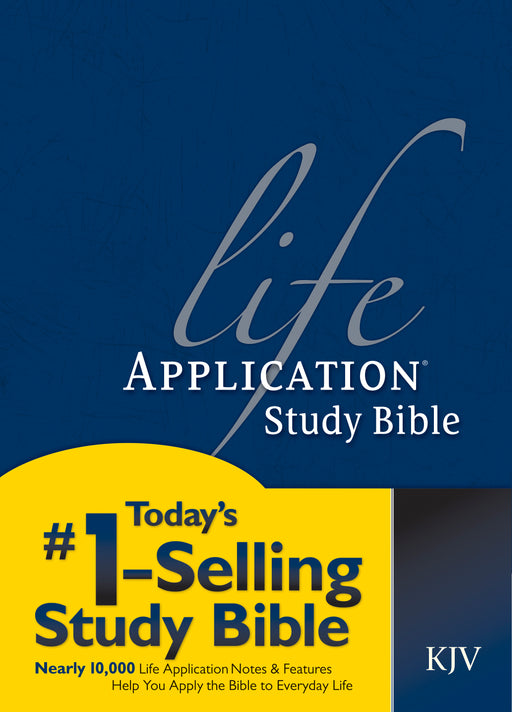 KJV Life Application Study Bible, Second Edition (Red Letter, Hardcover)