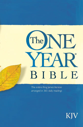 The One Year Bible KJV (Softcover)