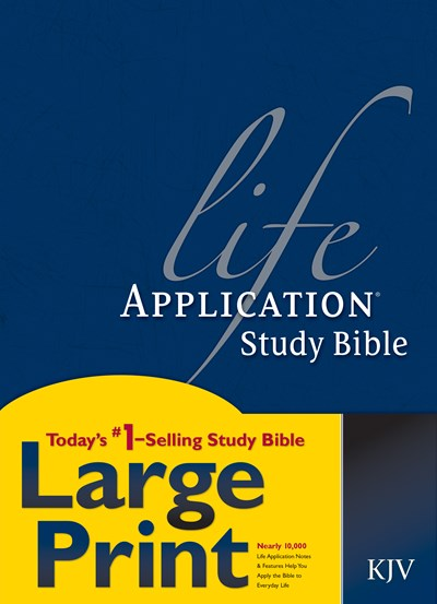 KJV Life Application Study Bible, Second Edition, Large Print (Red Letter, Hardcover)
