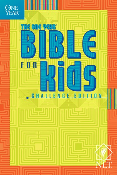 The One Year Bible for Kids, Challenge Edition NLT