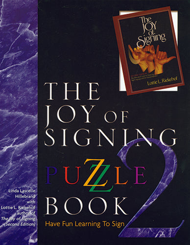 Joy of Signing, The -  Puzzle Book 2