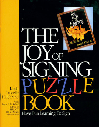 Joy of Signing, The - Puzzle Book 1