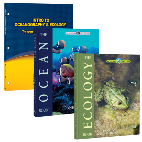 Intro to Oceanography and Ecology - 3 book pkg