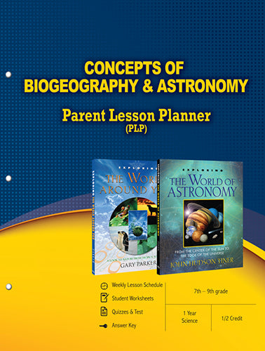 Concepts of Biogeography and Astronomy Parent Lesson Planner