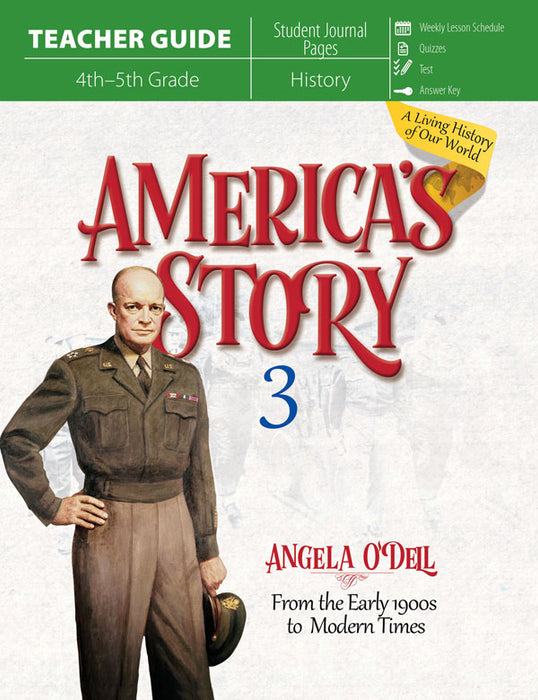 America's Story Vol 3 (Teacher Guide)