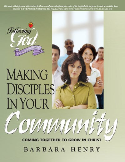 Making Disciples In Your Community