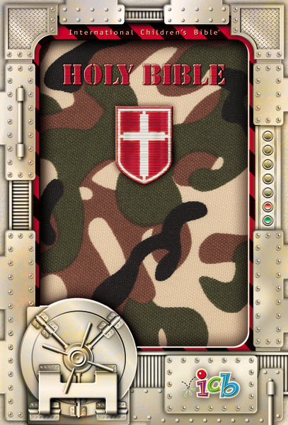 ICB, Holy Bible, Compact Kids Bible, Flexcover, Green