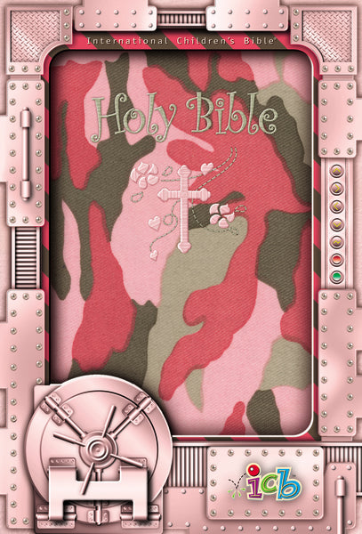 ICB, Holy Bible, Compact Kids Bible, Flexcover, Pink