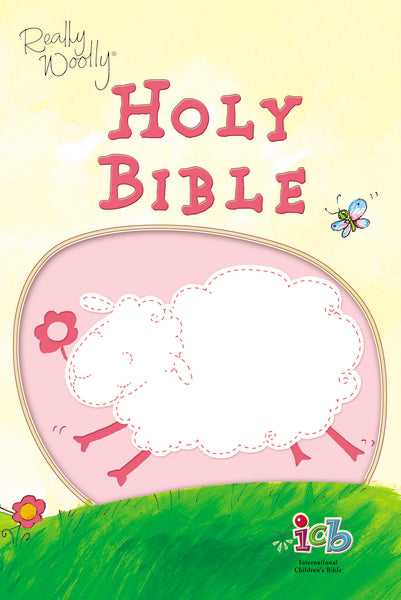ICB, Really Woolly Holy Bible, Leathersoft, Pink